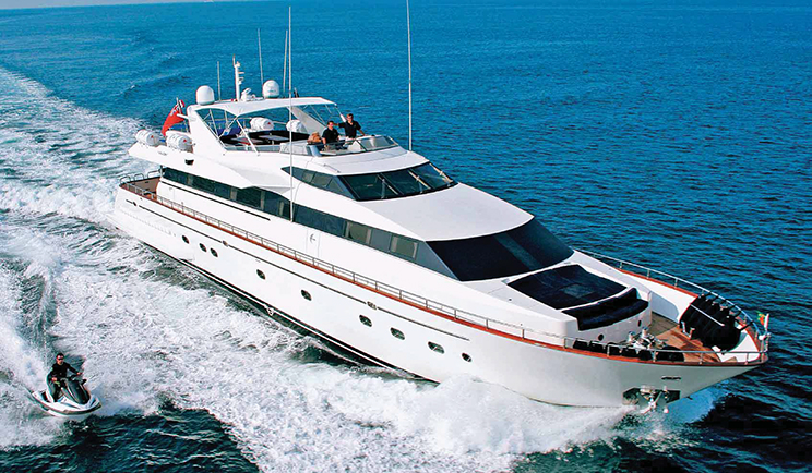 Blue Line Yachts | Falcon 100 ft  yacht for Sale